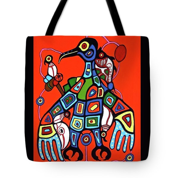 Thunderbird Tote Bag by Stephanie Moore