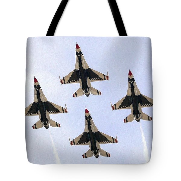 Thunderbirds Away Tote Bag