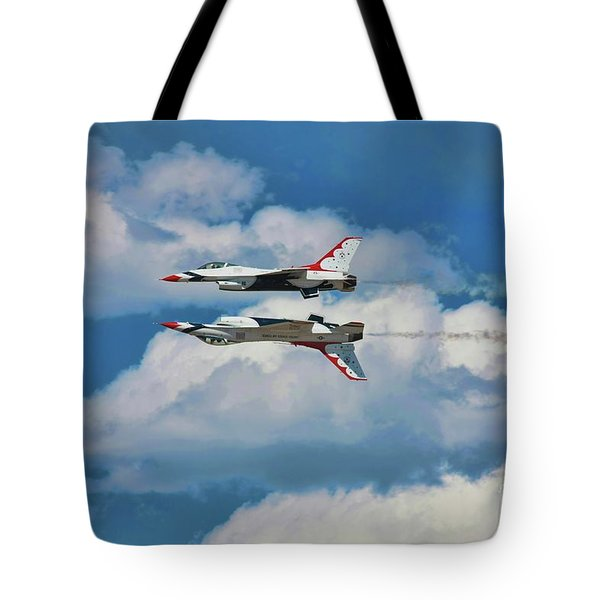 Thunderbirds Inverted Tote Bag