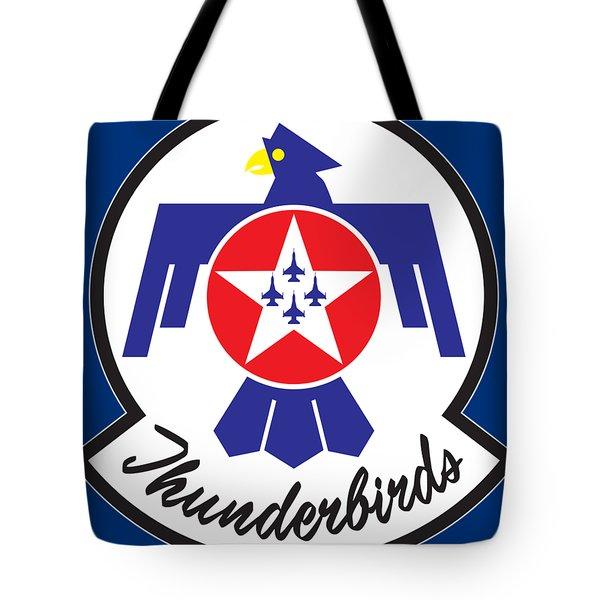 Thunderbirds Logo Tote Bag