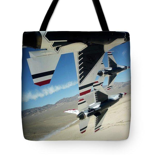 Thunderbirds Photo Tote Bag