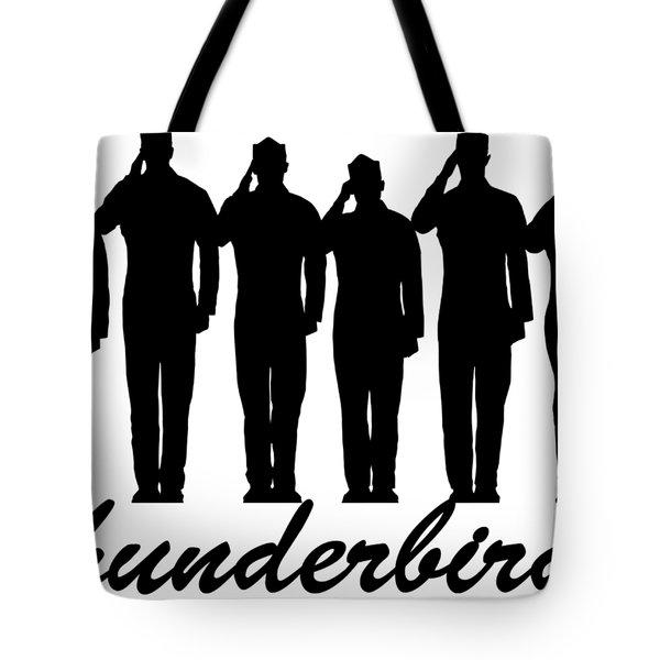 Thunderbirds Pilots Tote Bag
