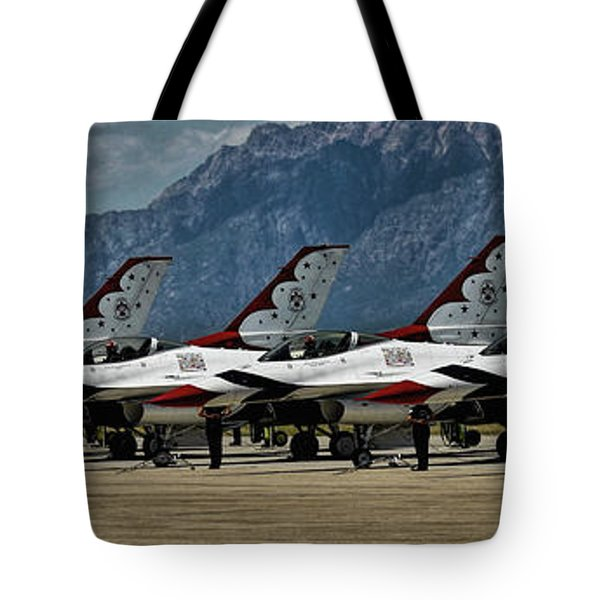 Thunderbirds Ready Tote Bag