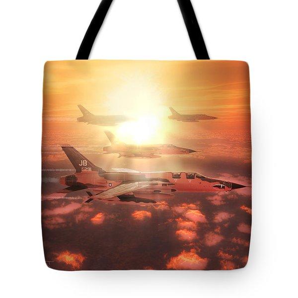 Thunderchief Dawn Tote Bag