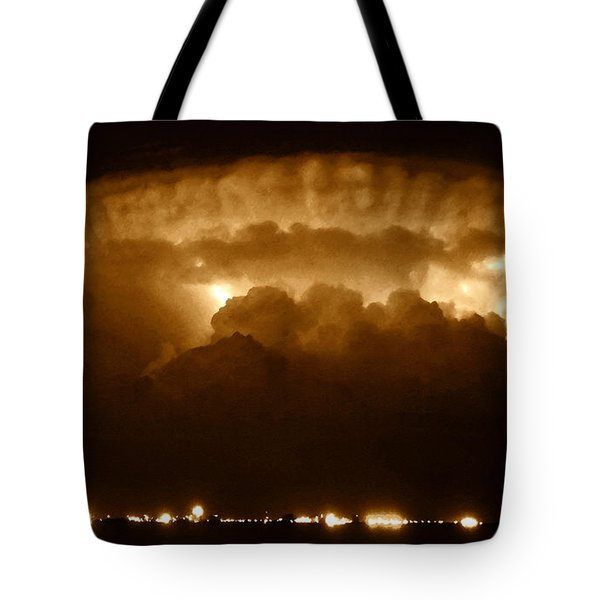 Thundercloud Tote Bag by David Lee Thompson