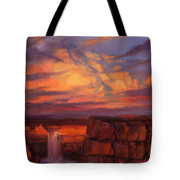 Thundercloud Over The Palouse Tote Bag