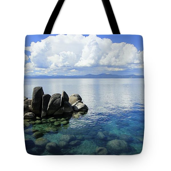 Tote Bag featuring the photograph Thunderclouds by Sean Sarsfield
