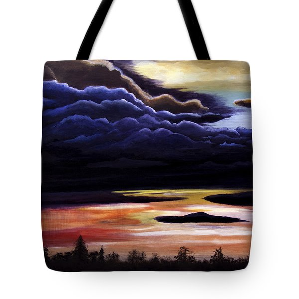 Thunderhead Tote Bag by Christie Nicklay