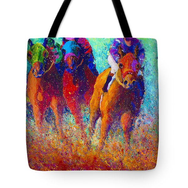 Thundering Hooves Tote Bag