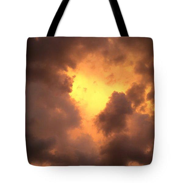 Thunderous Sunset Tote Bag