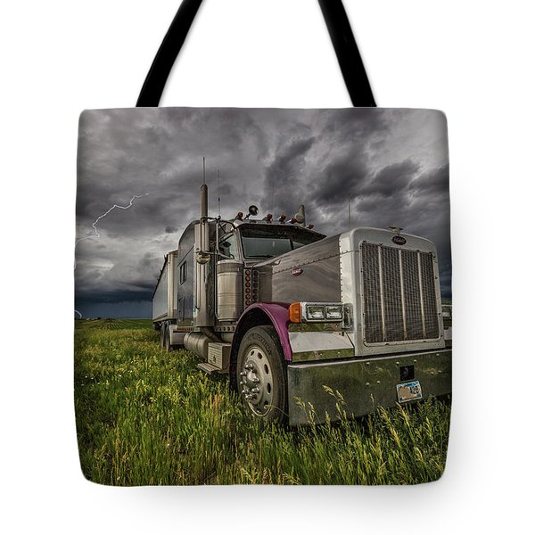 Tote Bag featuring the photograph Thunderstruck by Aaron J Groen