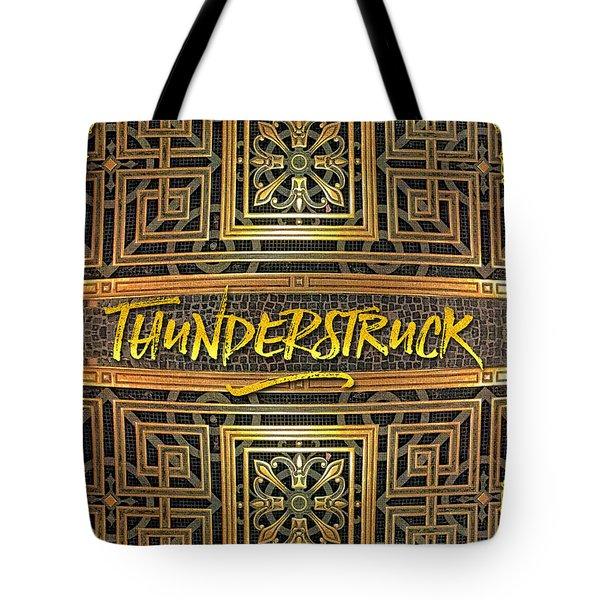Thunderstruck Opera Garnier Ornate Mosaic Floor Paris France Tote Bag