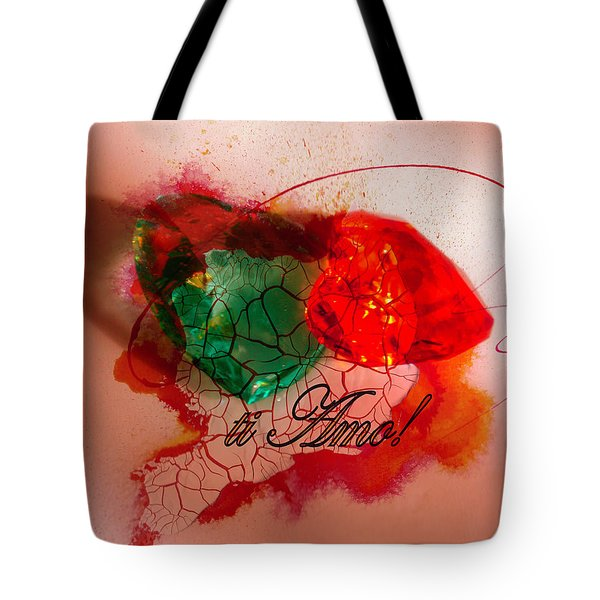 Ti Amo Too Tote Bag