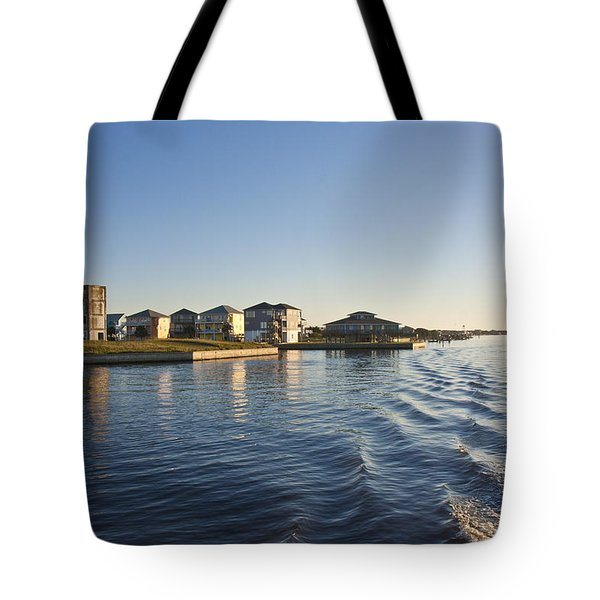 Ti Observation Tower 2 Tote Bag by Betsy C  Knapp