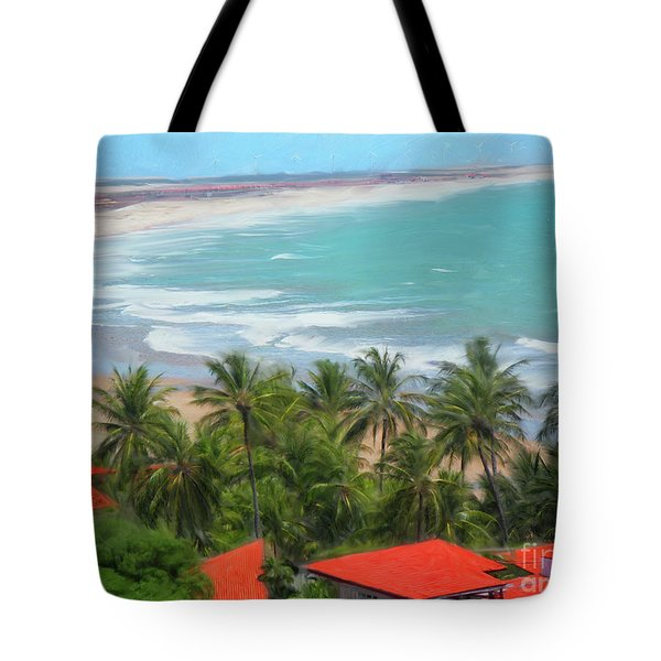 Tiabia, Brazil Beach Tote Bag