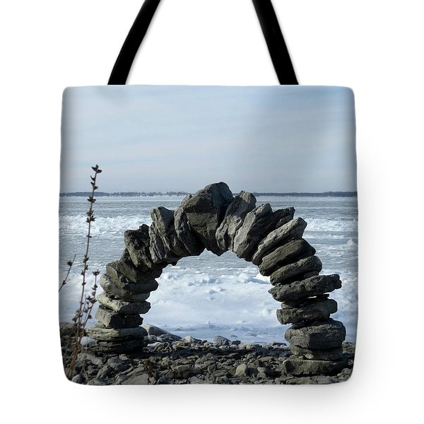 Tibbetts Point Arch Tote Bag