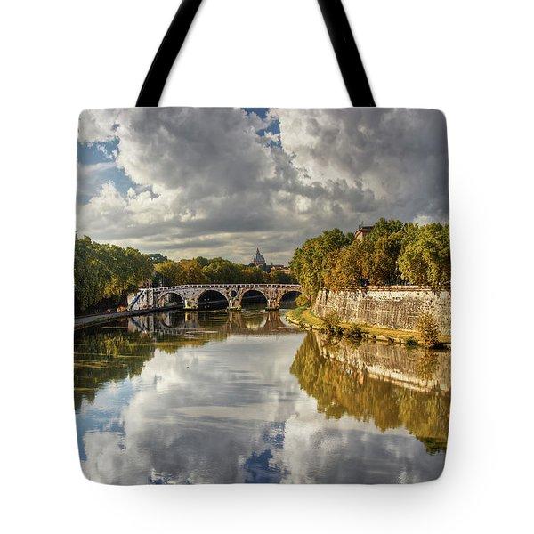 Tiber Morning Tote Bag