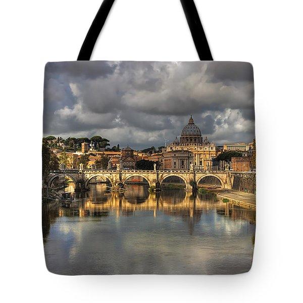 Tiber River Tote Bag