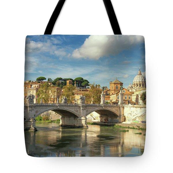 Tiber View Tote Bag