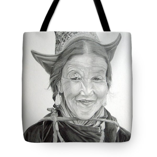 Tibetan Delight Tote Bag