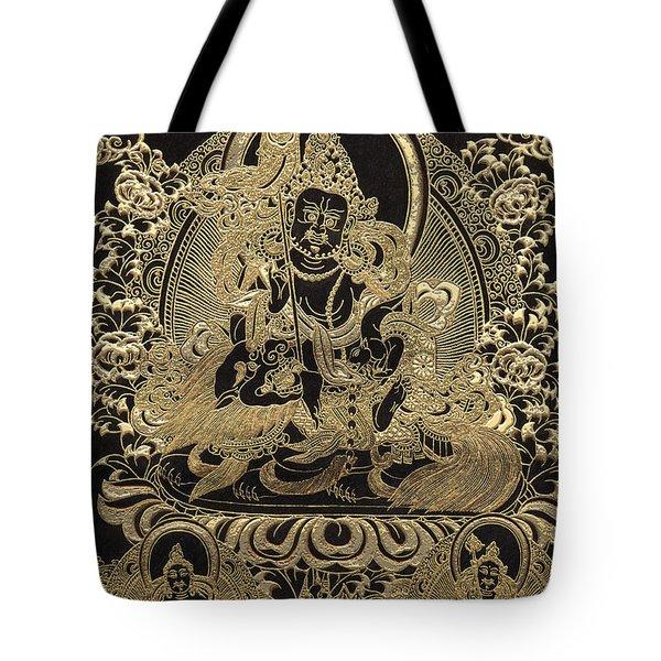 Tibetan Thangka - Vaishravana Tote Bag