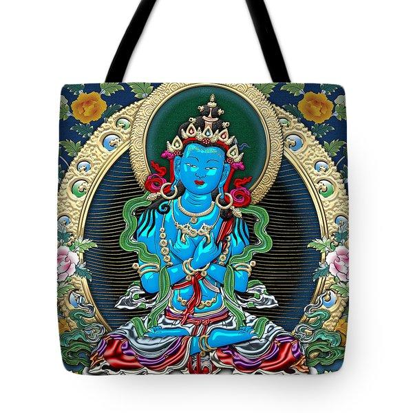 Tibetan Thangka -  Vajradhara Tote Bag