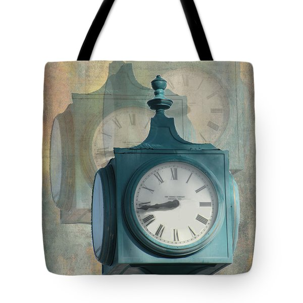 Tick Tock Version Two Tote Bag by Rosalie Scanlon