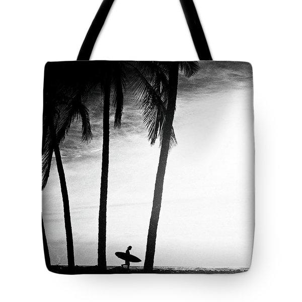 Ticla Palms Tote Bag