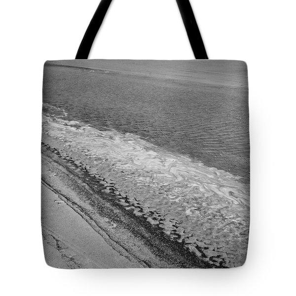 Tidal Abstract Tote Bag