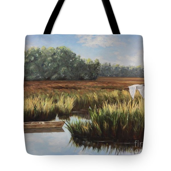 Tidal Creek Tote Bag