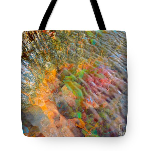 Tidal Pool And Coral Tote Bag