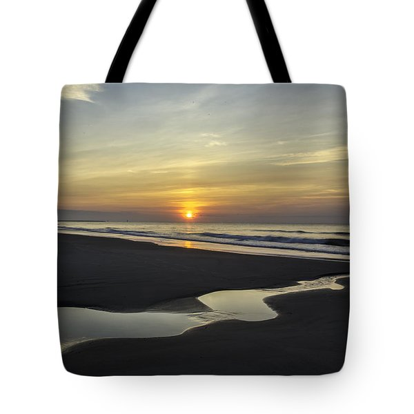 Tidal Pool Runoff Tote Bag