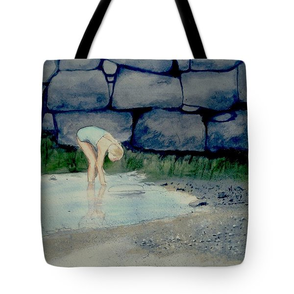 Tidal Pool Treasures Tote Bag by Anthony Ross