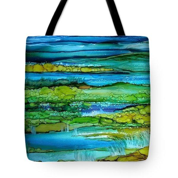 Tidal Pools Tote Bag