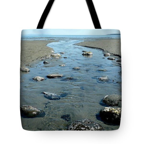 Tote Bag featuring the photograph Tidal Pools by 'REA' Gallery