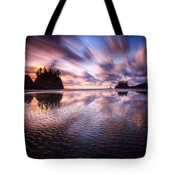 Tidal Reflection Serenity Tote Bag