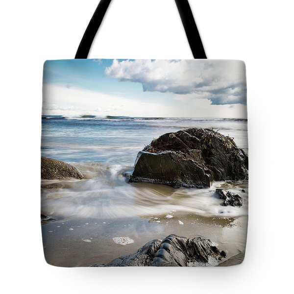 Tide Coming In #2 Tote Bag