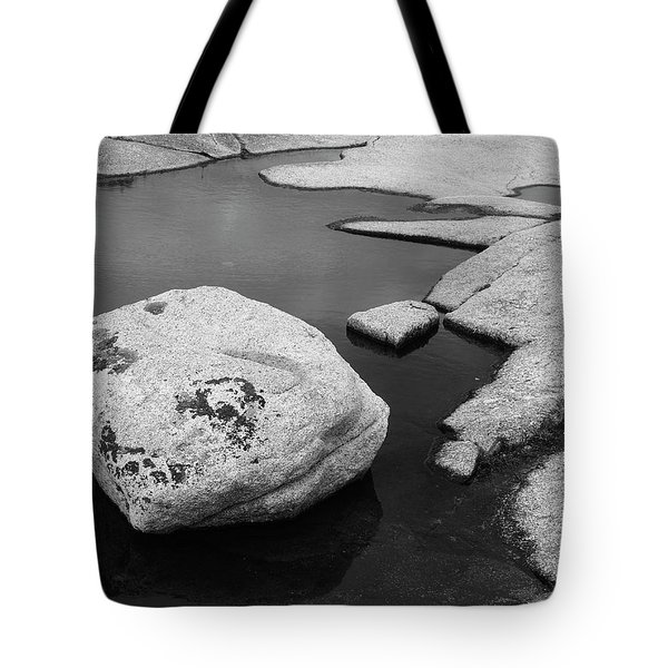 Tide Pool Boulder Tote Bag