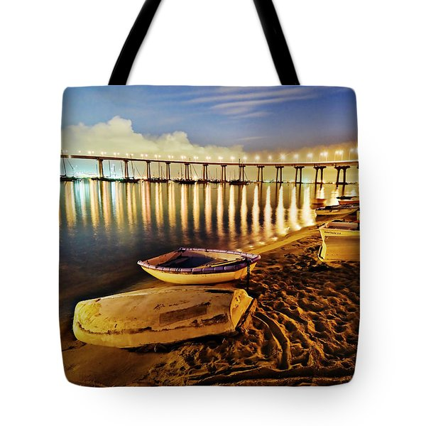 Tidelands Taxis Tote Bag