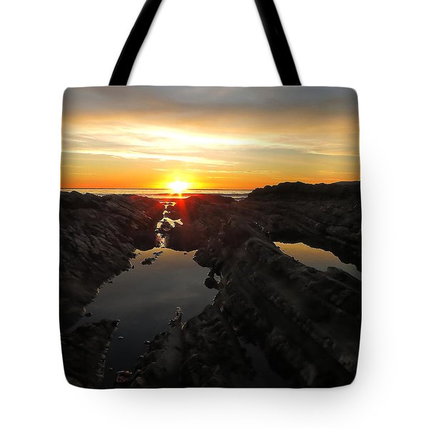 Tote Bag featuring the photograph Tidepools by Paul Foutz