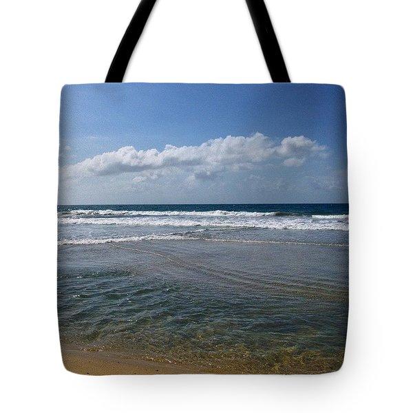Tides And Skies. Tote Bag