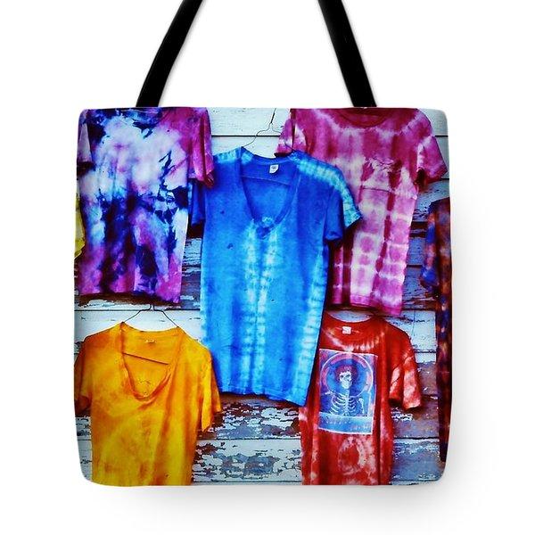 Grateful Dead Tie Dye Tote Bag