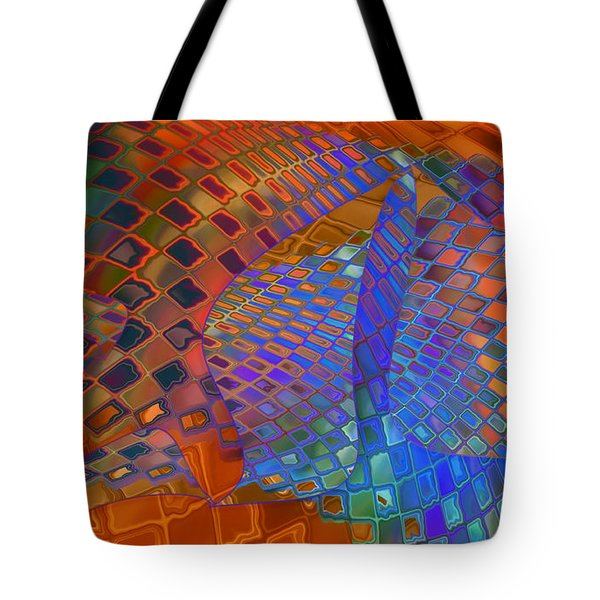 Tie Sposition Tote Bag