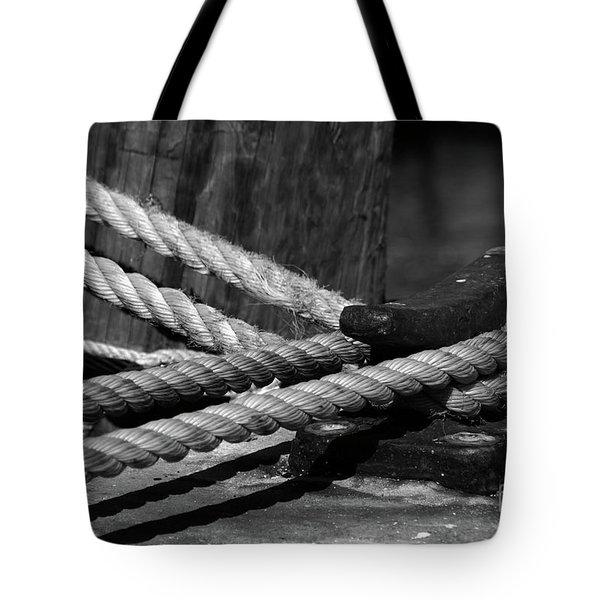 Tied Down Tote Bag by Susanne Van Hulst