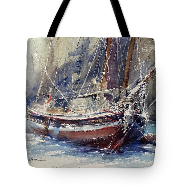 Tied Up At The Moment Tote Bag
