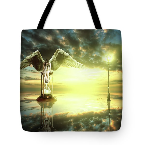 Time To Reflect Tote Bag by Nathan Wright