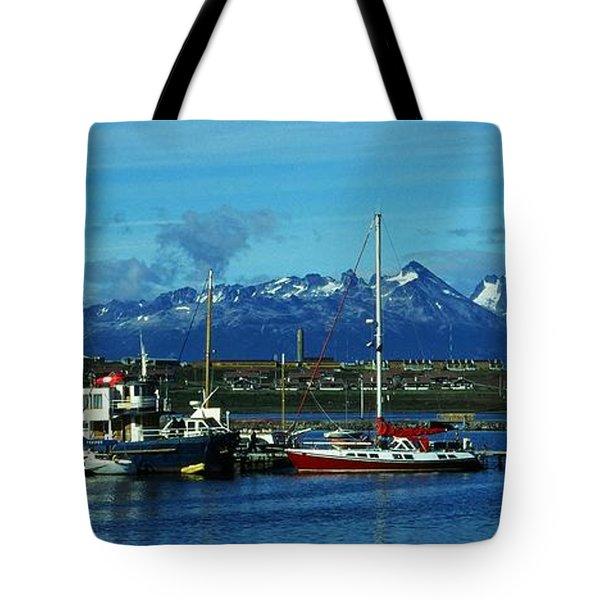Tierra Del Fuego Tote Bag