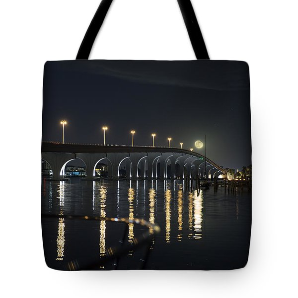 Tierra Verde Bridge Tote Bag