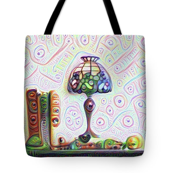Tiffany Lamp Tote Bag by Bill Cannon