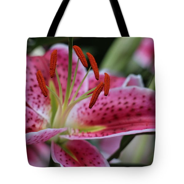Tigar Lilly Tote Bag
